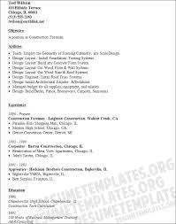 sample resume objective general labor general laborer resume general labour resume sample