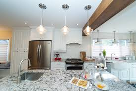 kitchen linear dazzling lights clear ceiling recessed: this kitchen is where modern meets rustic after the renovations of homeowners christine and thomas