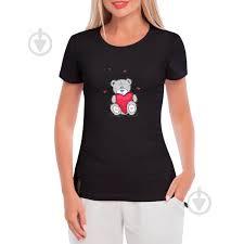 ᐉ Женская <b>футболка</b> GlobusPioner <b>Мишка</b> Тэдди с сердцем ...