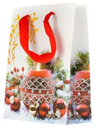 <b>Пакет подарочный УРРА</b> Новогодний 18х24х8 см — купить по ...