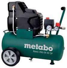 <b>Компрессор</b> безмасляный Metabo Basic 250-24 W OF, 24 л, 1.5 ...