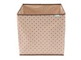 <b>Коробка</b>-<b>куб Homsu</b> для хранения вещей, Горох бежевый купить ...