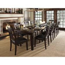 hardware dining table exclusive: belham living kennedy trestle extension dining table dining tables at hayneedle