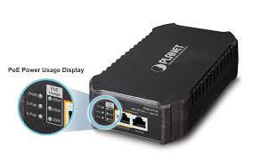 POE-175-95 <b>Single</b>-<b>Port 10/100</b>/<b>1000Mbps</b> 802.3bt PoE Injector (95 ...