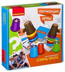 Настольная <b>игра BONDIBON Спрячь</b> крота ВВ2420 — купить по ...