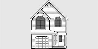 Small Affordable House Plans and Simple House Floor Plans Narrow lot house plans  small lot house plans  ft wide house plans