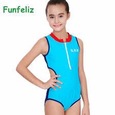 <b>Funfeliz</b> 2018 Girls Sport <b>Swimsuit</b> 8 15Y <b>one piece swimwear</b> for ...