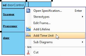 drawing timing diagrams in visual paradigmadd time unit