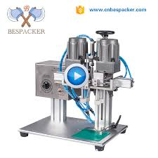 <b>Pneumatic</b> type four rollers screw spray <b>bottle capping machine</b>