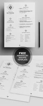 20 cv resume templates psd mockups bies graphic mini st resume template psd