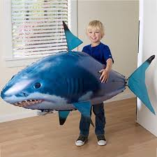 <b>Infrared</b> RC Flying Air Shark Toy Decoration <b>Flying Fish</b> Balloon ...