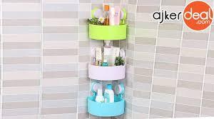 triangle-shaped bathroom <b>corner</b> shelf | <b>bathroom shelf</b> - YouTube