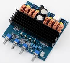 TDA7498 200W+100W+100W <b>2.1 channel digital</b> power amplifier ...