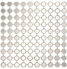 mirror wall decor circle panel: deco  metal mirror wall panel  by quot