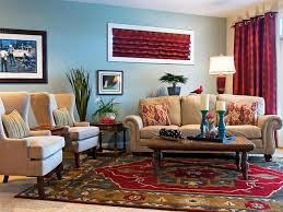 blue wall color for eclectic living room decor family decorating ideas with white sofa inside family charming eclectic living room ideas