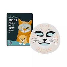 Holika Holika Baby Pet Magic Mask Sheet <b>Cat Тканевая маска</b> ...