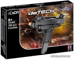 <b>CaDa Detech Пистолет</b>-<b>пулемет</b> C81008W <b>конструктор</b> купить в ...