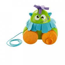 Каталка-игрушка <b>Fisher Price</b> Mattel <b>Монстрик Играй</b> и катай на ...