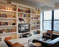 furniture living room wall: built ins mostly open shelves with drawers decor bookshelvesliving room bookshelvesplace bookshelvesbookshelves