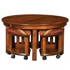 5 piece round table bench set amish breakfast nook set