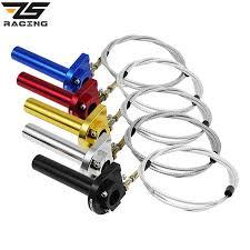 "ZS Racing ZSDTRP <b>7/8</b>"" Motorcycle Throttle Twist Grips <b>22mm CNC</b> ..."