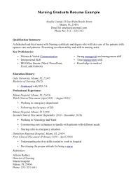 sample resume sle resume for nursing graduate school nurse resume sample