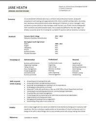 example of secretary resume  socialsci cosample resume legal secretary resume template australia administrative   example of secretary resume