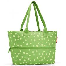 <b>Сумка reisenthel</b>, <b>Shopper</b>, <b>E1</b>, spots green — купить в интернет ...