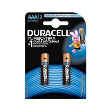 Battery <b>Duracell</b> Turbo MAX <b>LR03 2BL AAA</b> (2pcs) Consumer ...