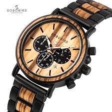 BOBO BIRD <b>Wooden Watch Men</b> erkek kol saati <b>Luxury</b> Stylish ...