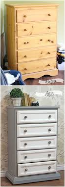 tall dresser makeover tutorial with trim and paint bedroom furniture makeover
