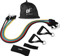 Resistance Band 5 Set for Home, Gym and Outdoor ... - Amazon.com