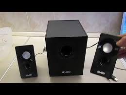 Видеобзор от покупателя на <b>Колонки SVEN</b> 2.1 <b>MS</b>-<b>85</b> 10 Вт ...