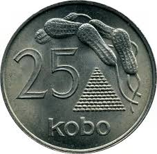 Image result for first bank note 50 kobo1, 5, 10 and 25 kobo