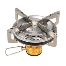 <b>1pc Portable</b> Stainless Steel Mini Camping BBQ <b>Gas Stove Outdoor</b> ...