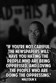 Malcolm X quote by any means Necessary is one for the most famous ... via Relatably.com
