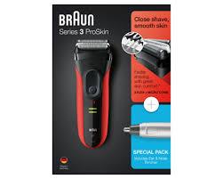 <b>Электробритва Braun Series 3</b> ProSkin 3030s + триммер Ear&Nose