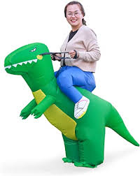 Halloween T-Rex Costume Inflatable Dinosaur Suit ... - Amazon.com