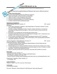 retail pharmacist resume cipanewsletter pharmacist resume resume format pdf