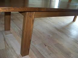 long wood dining table: make yourself rectangle rustic wooden dining table with square legs diy long rustic wooden dining table with standard legs diy long rectangle rustic wooden