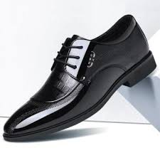 <b>Increased Men Business Dress</b> Shoes Wedding: Buy Dress Shoes ...