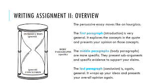 essay writing social studies social essays social studies allows writing assignment ii overview the persuasive essay moves like an hourglass
