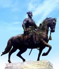 statue of Rajarshi Chhatrapati Shahu Maharaj