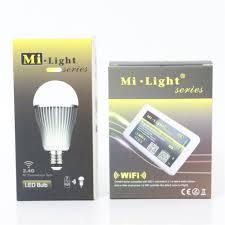 FULL NEW Mi <b>Light</b> 9W CW WW Dimmable Lampada <b>LED Bulb</b> E27 ...