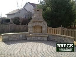 outdoor fireplace paver patio: backyard landscaping ideas img  backyard landscaping ideas
