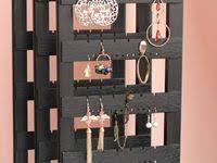 Earring Holder: лучшие изображения (10)   Сережки, Ювелирные ...