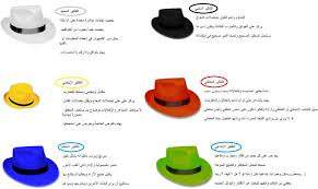 نتيجة بحث الصور عن القبعات الست