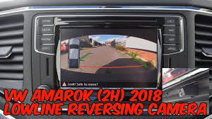 Volkswagen Amarok 2H 2018 Reversing Camera Retrofit - YouTube