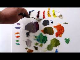 How to <b>Mix Color</b>: The Many Shades of Gray, Split Primary Palette ...