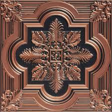 sagging tin ceiling tiles bathroom:  faux tin ceiling tile   quot x   quot